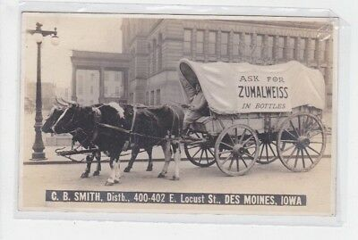 Ask For Zumalweiss In Pottles  C.b.smith   Des Moines,ia  1914