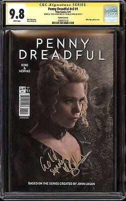 Penny Dreadful v2 #1 Photo Cover Variant CGC SS 9.8 Signed Billie Piper TV NM/MT