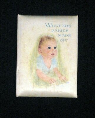 Vintage 1972 Beautifully Illustrated Hallmark Remembrance Baby Book,4.5 in.x6 in