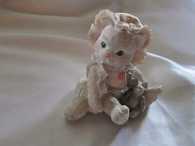 "Vintage Enesco Calico Kittens : Love's Special Delivery"" 1992"