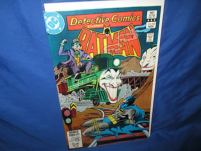 Dc Comics Detective Comics #532 Joker Train & Batman Bondage Cover