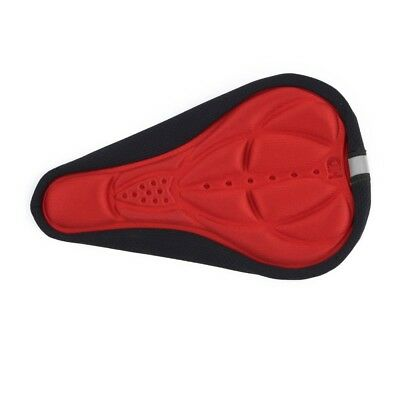 Thick Cycling Bicycle EVA Pad Seat Saddle Cover Soft Bike Cushion Red LT