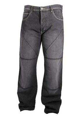 NEW HORNEE MOTORCYCLE  CARGO JEANS FULLY REINFORCED WITH DuPont™ KEVLAR® - BLACK