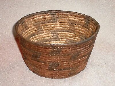 Museum Quality Apache Basket in Pristine Condition