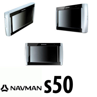 "Navman S50 4.3"" Car GPS Handsfree with Bluetooth Navigator connectivity Silver"