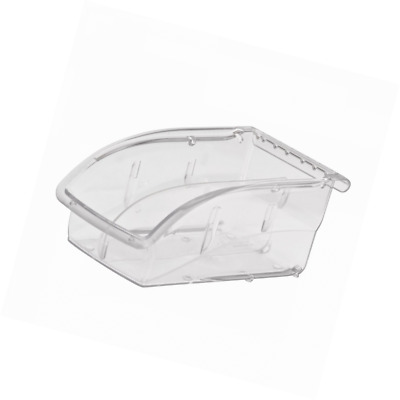 Akro-Mils 305A3 Insight Ultra-Clear Plastic Hanging and Stacking Storage Bin, 7-