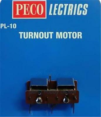 PECO LECTRICS PL-10 Turnout Motor with STANDARD Length Pin  - (Switch Motor)