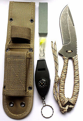 13 in 1 Multi Function Camping Outdoor Survival Fishing Tactical Train Knife AU