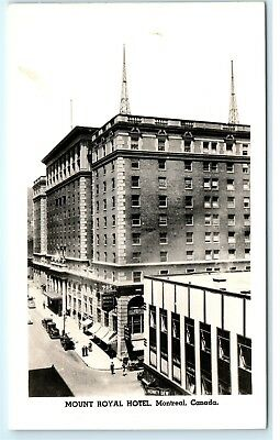 1940s Honey Dew Mount Royal Hotel Montreal Canada Vintage Photo Postcard C89