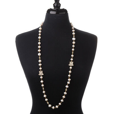 NEW Bowerhaus Shentel Pearl Gold Necklace