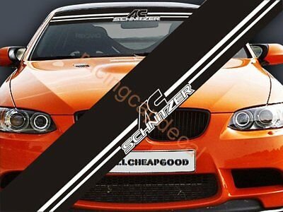 Sun Strip Visor Windshield Windscreen Decal Sticker for ac bmw 1m m2 m3 m4 m5 m6