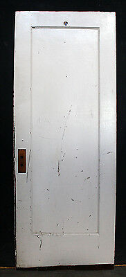 """2 available 30""""x78"""" Antique Vintage Interior SOLID Wood Wooden Door Single Panel"""