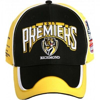 Richmond Tigers Official AFL Phase 2 Premiership 2017 Cap