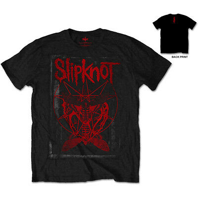 New  Slipknot Men's Tee: Dead Effect (Back Print) (Xx-Large) Xx-Large Black