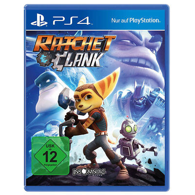 Sony Playstation PS4 Ratchet & Clank Jump and Run Spiel NEU OVP USK12
