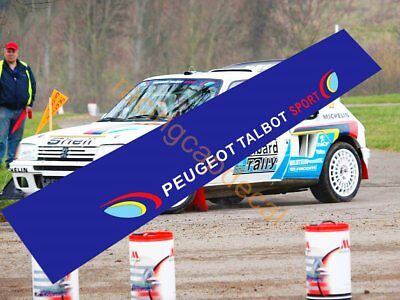 Peugeot Talbot Sport Sun Strip Visor Windshield Windscreen Decal Sticker 205 wrc