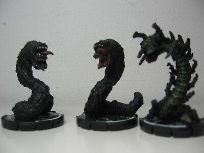 Mage Knight - 3 Würmer Worms Monster - Crypt Worm Thorn Crawler (2)