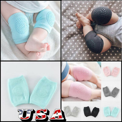 Baby Knee Pads Crawling Toddler Kids Boy Girl Elbow Protective Safety Socks US