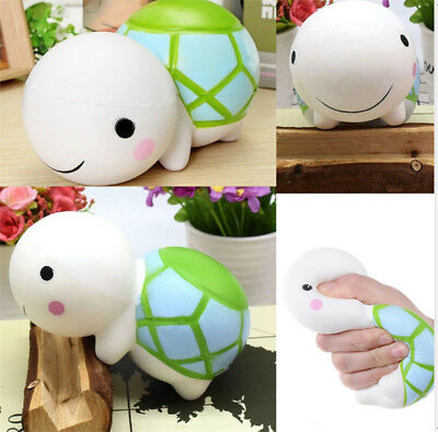 US 14cm Funny Toy Squishy Turtle Scented Squeeze Slow Rising Relieve Stress Toy