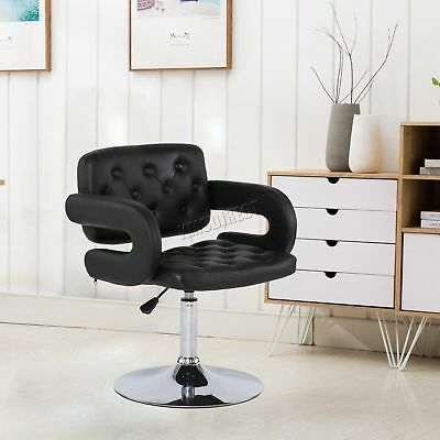 FoxHunter Beauty Salon Chair Barber Hairdressing Hair Cut PU Leather SC02 Black