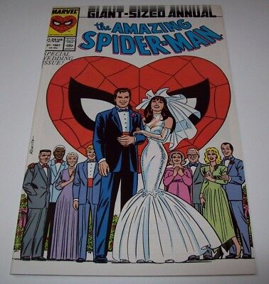 Amazing Spider-Man Annual 21 Wedding Both Newstand & Direct (1987, Marvel) VF/NM