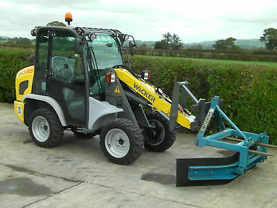 Replace a scraper tractor with a Multione or Wacker compact loader
