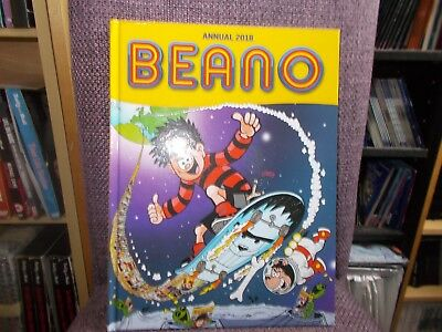 Beano Annual 2018 - B/new - Mint Condition ,same Day Dispatch, 1St Class