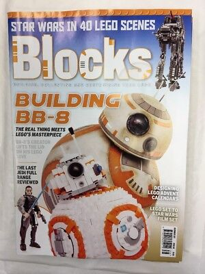 Blocks Mag Issue 38 December 2017 Lego Building Collecting Starwars Build Bb8