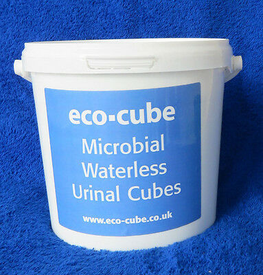 Urinal Cubes, Waterless, Biological 'eco-cube'.  Extra Strong Fragrance. 2KG.