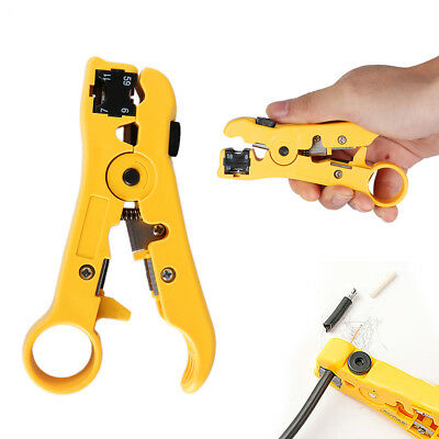 Rotary Coaxial Cable Stripper Wire Cutter Stripping Tool RG59 RG6 RG7 RG11