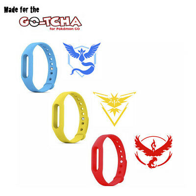 GO-TCHA Replacement Team Wristband Only - Available in Yellow, Blue & Red