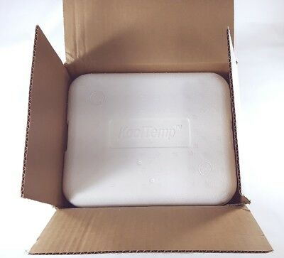 """KoolTemp EPS Insulated Container (KT-867) 11.25"""" X 9.25"""" x 10"""" + Outer Box"""