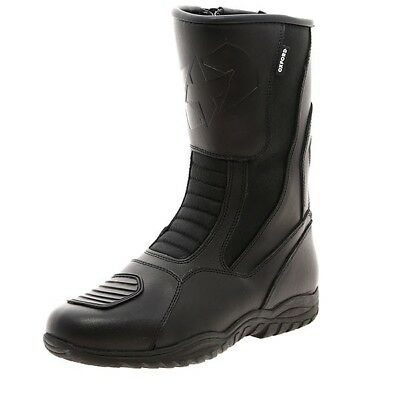 Oxford Tracker Boots Motorcycle Road Bike Waterproof Leather Boots
