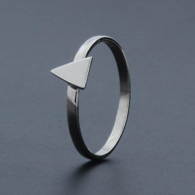 Spearhead Silver Ring