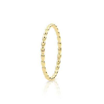 Lock of Youth Light Gold Ring