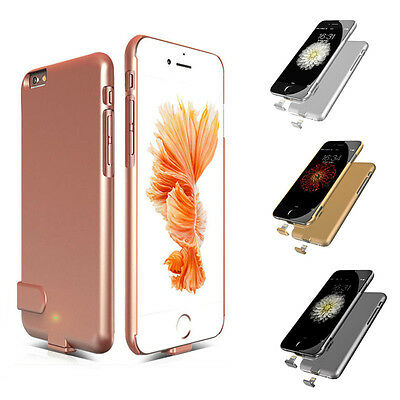 New For iPhone 6/6S Power Bank TOP THIN Battery Backup Charger Case Phone Cover