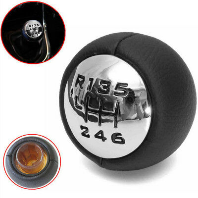 6 Speed Gear Stick Shift Knob ABS Fit For Peugeot 307 308 3008 407 5008 807