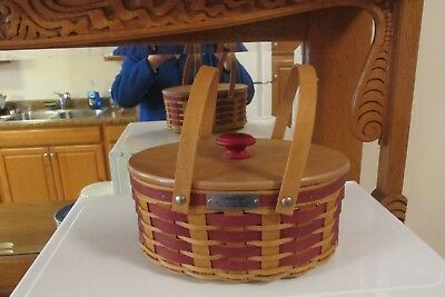 Longaberger 2007 Christmas Collection Sweets And Treats Basket