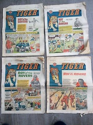 Tiger comic. 4 issues. Jan/March 1961 and 2 x June 1961