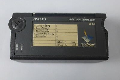 National Instruments FP-A1-111 16 Bit Current Imput