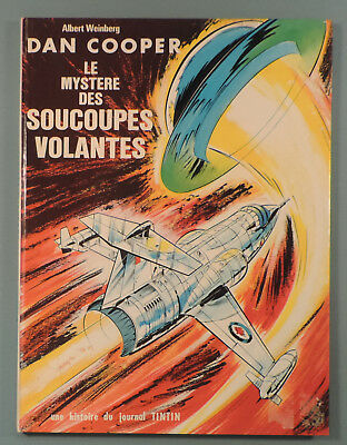Dan Cooper 13 Mystere des Soucoupes Volantes Weinberg Lombard 1969 EO