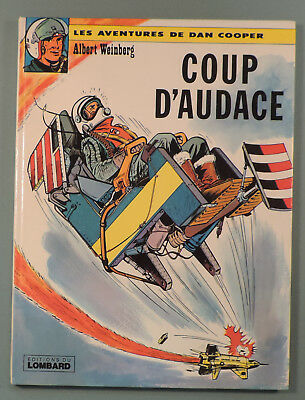 Dan Cooper 6 Coup d'Audace Weinberg Lombard 1977 Reedition