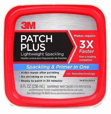 Ppp-8-Bb 3M 8 Fl Oz Spackling Patch Plus Primer (237Ml)