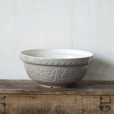 Mason Cash In the Forest mixing bowl, stone, owl