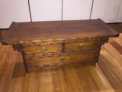 Korean Antique Wooden Chest - Local Pick Up Only