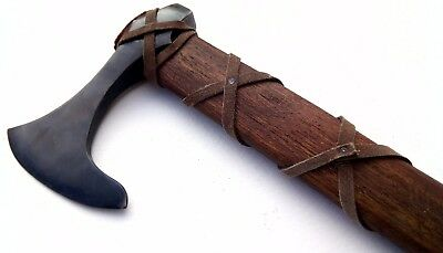 Viking Age - Forged Axe with, Handle, Ragnar Lothbrok battle axe