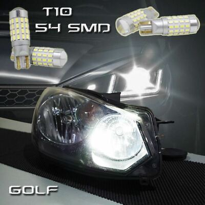 501 Super Bright White T10 W5W LED 54 3014 SMD 194 Canbus ERROR FREE SMD lights