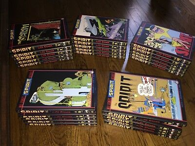 Will Eisner's The Spirit Archives-Complete 25 Volume Set-2000/09-All 1st Prints