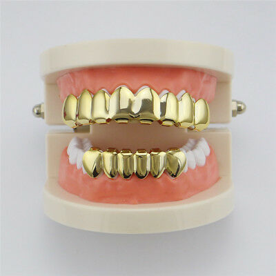 Grillz - Gold - SET - Hip Hop