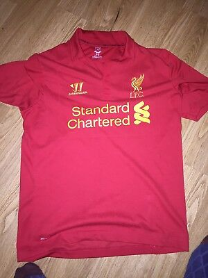 Liverpool FC Home Shirt 2012-13